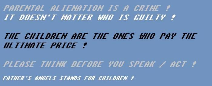 Alienation is a crime - 2015