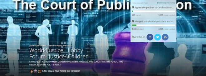 Causes - World4Justice - Lobby Forum- Justice4Children 3- 2015