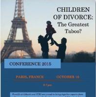 Conference Paris Oct 10 2015 - Children of Divorce