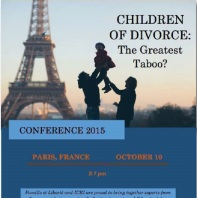 Conference Paris Oct 10 2015 - Children of Divorce