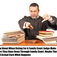 Exposed Corrupt Family Court Judge
