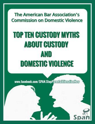 10 Custody-DV Myths Study - 2016